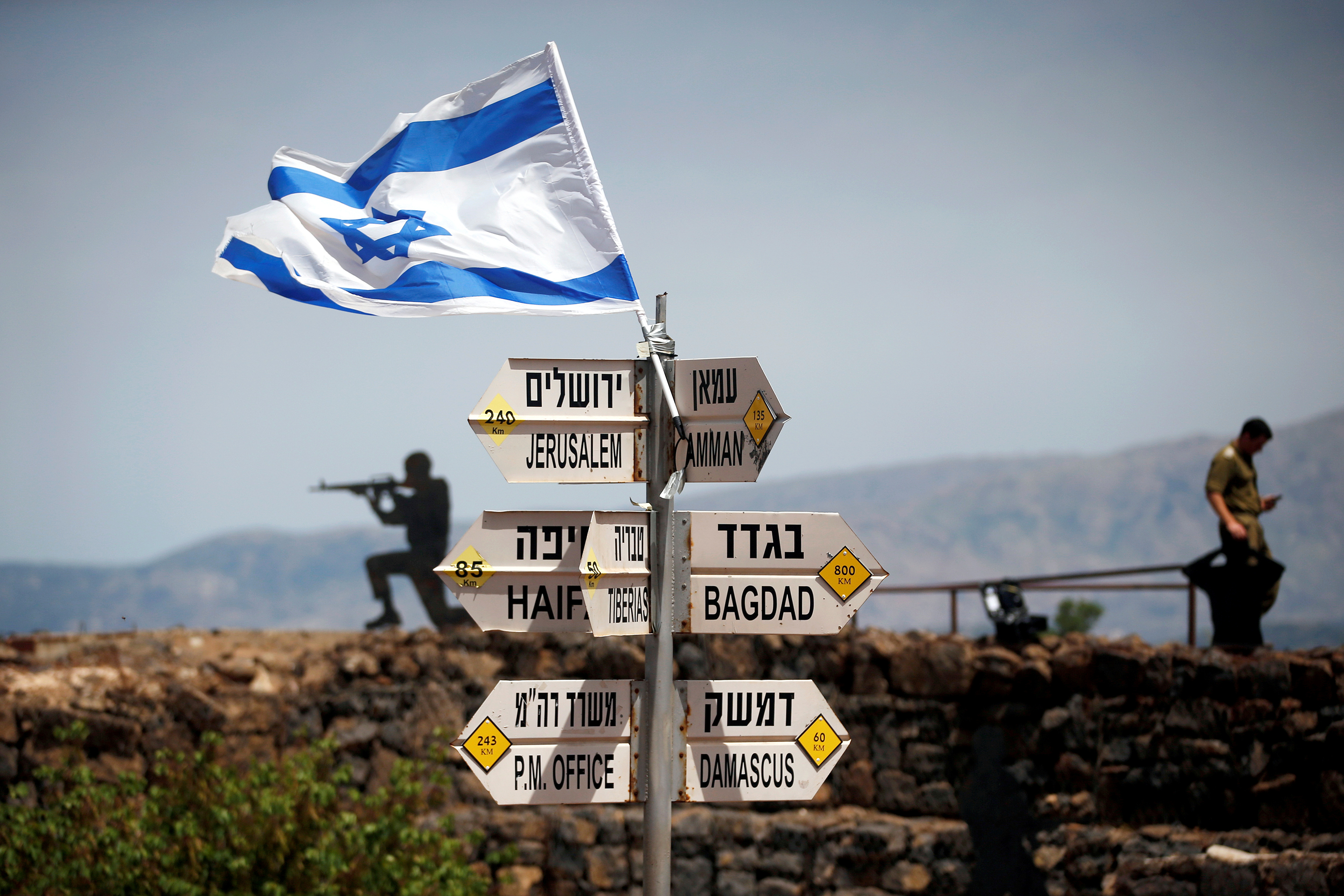 trump-golan heights-israel