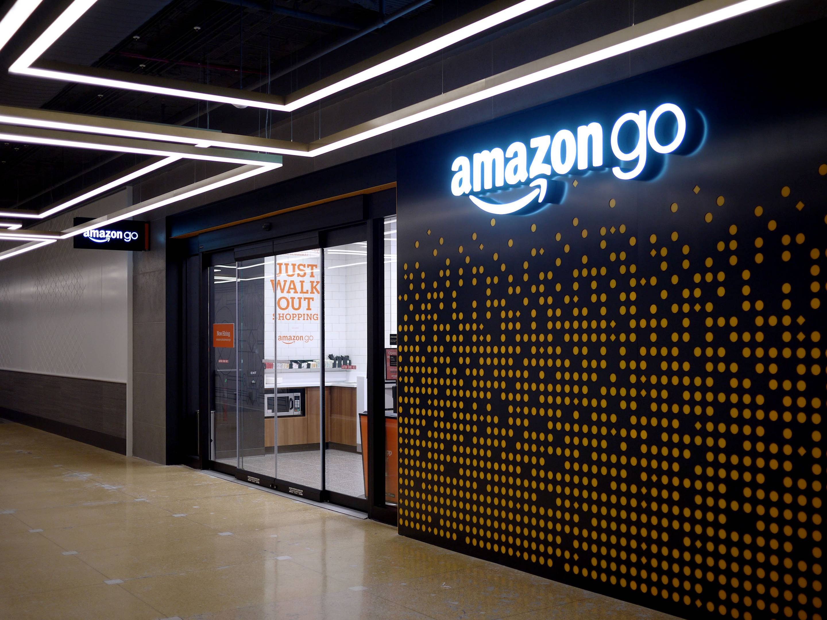An Amazon Go store in Chicago.