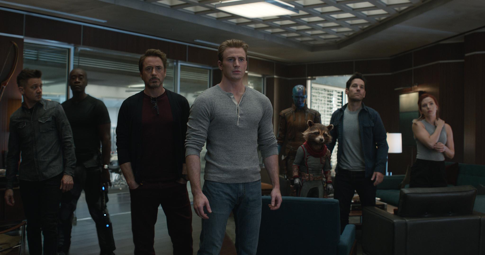 Avengers Endgame Marvel Characters