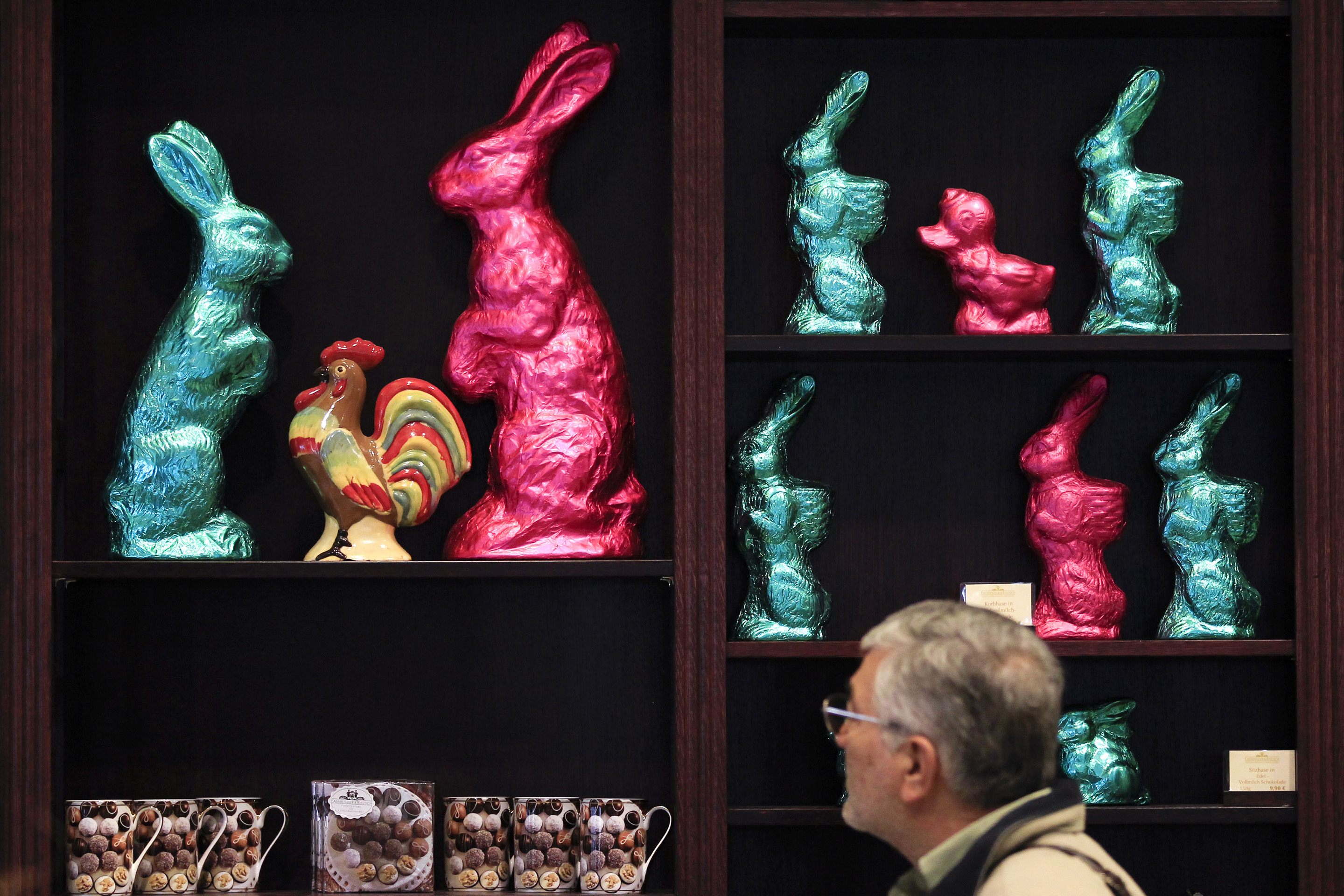 Easter Bunny Chocolate Store