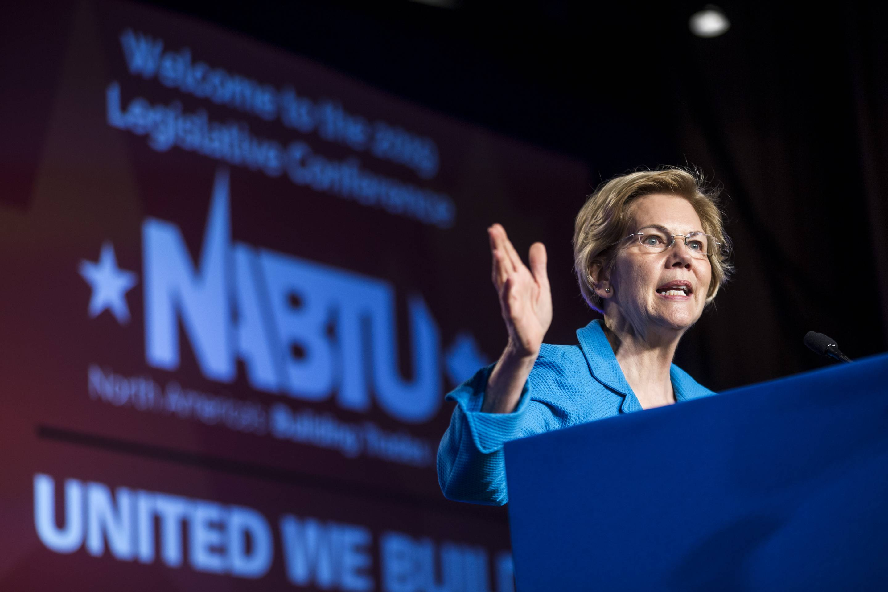 Democrat Presidential Candidates Attend Building Trades Unions Conference