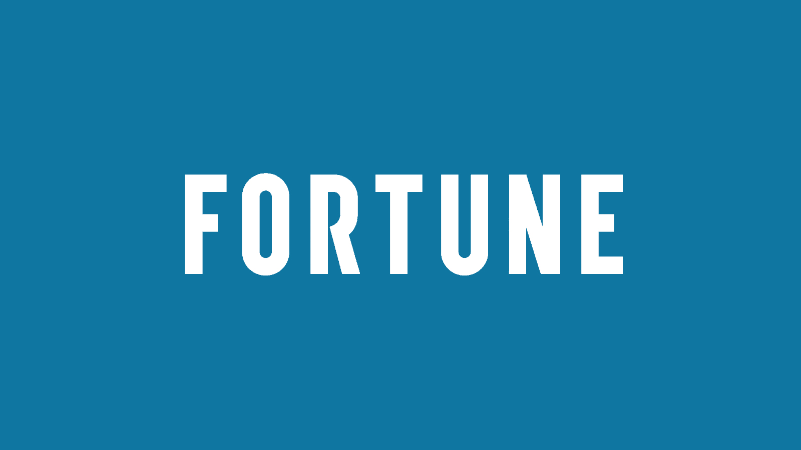 fortune logo icon (blue)