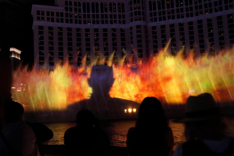Game of Fountains, Las Vegas, USA - 31 Mar 2019