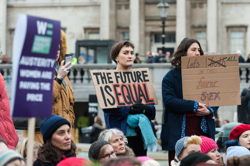 Women's March And Rally In London
