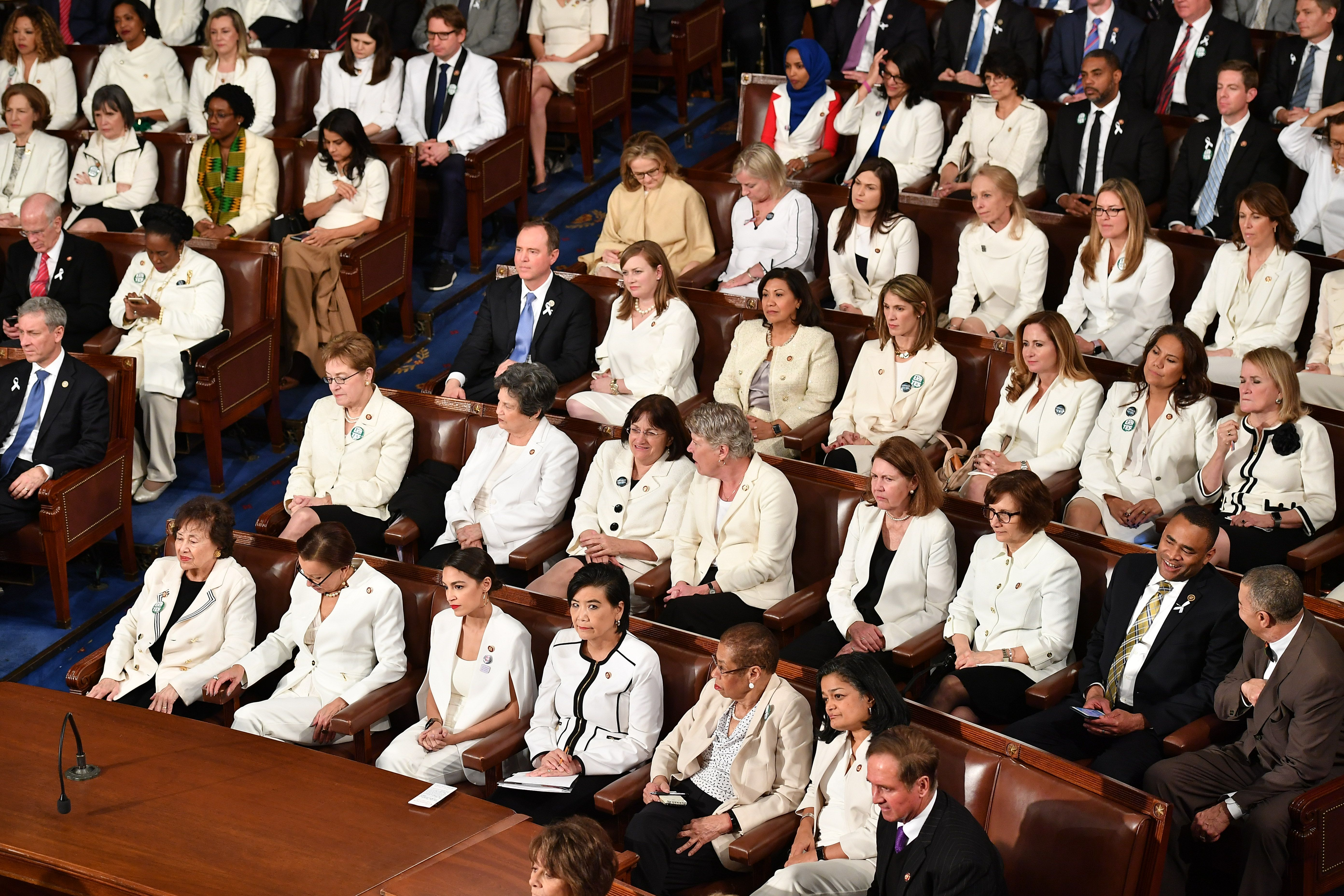 Congresswomen at the State of the Union