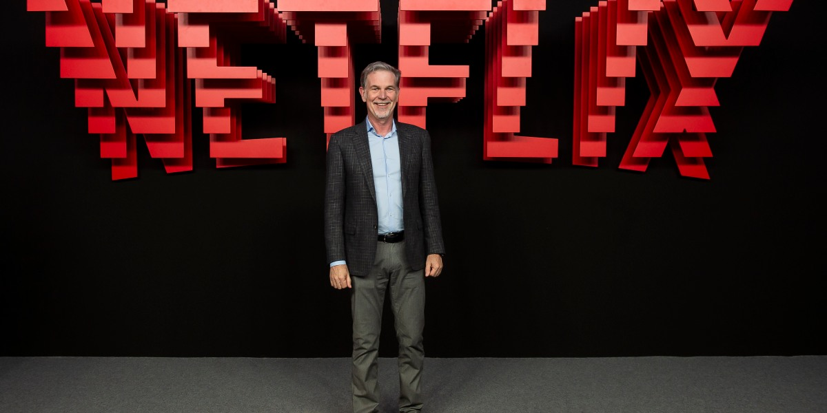 Netflix CEO Reed Hastings' Compensation Skyrocketed 48% to $36.1 Million in 2018