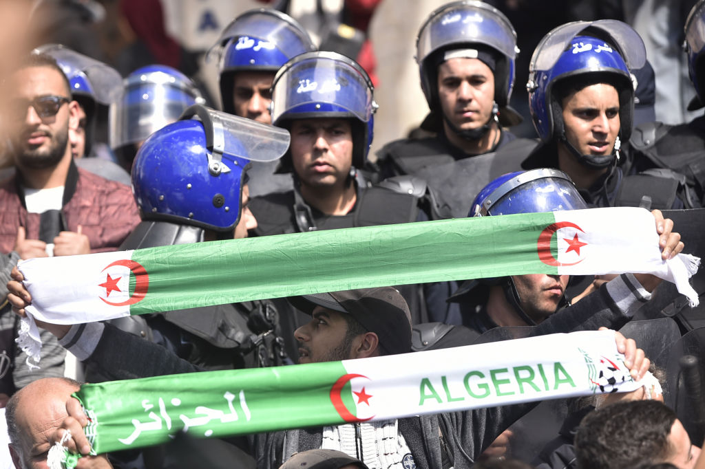 ALGERIA-POLITICS-DEMO