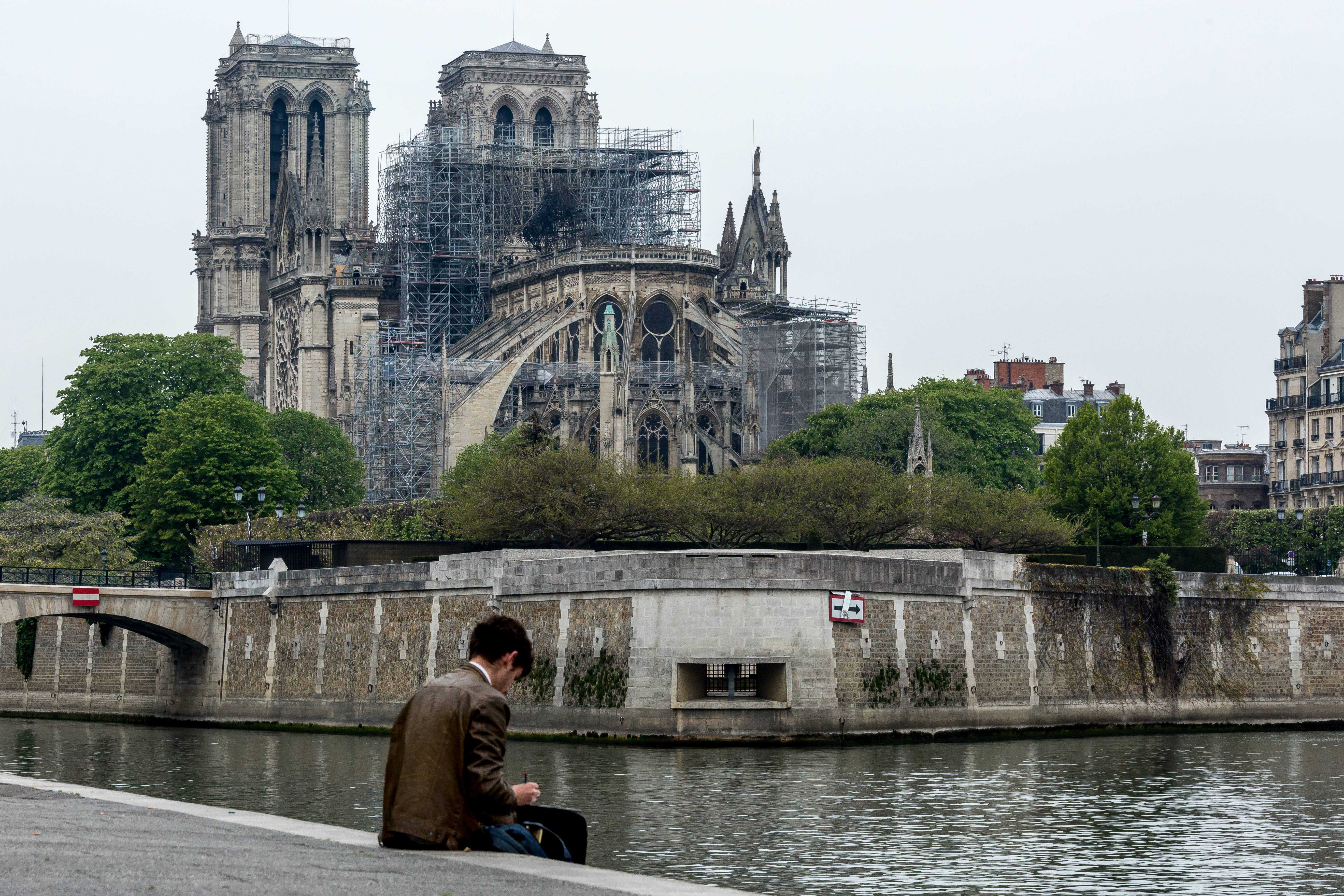 Notre Dame Could Be Rebuilt Thanks To Late Professor S Digital