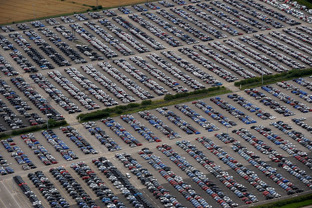 UK New Car Sales Slump