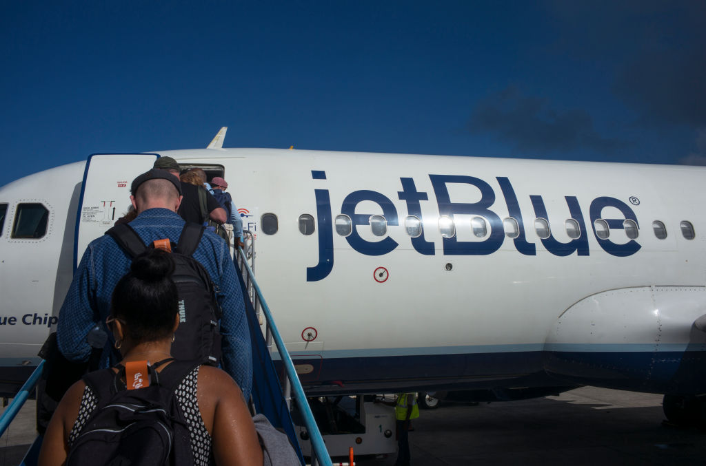 JetBlue Airways Departure From Grenada