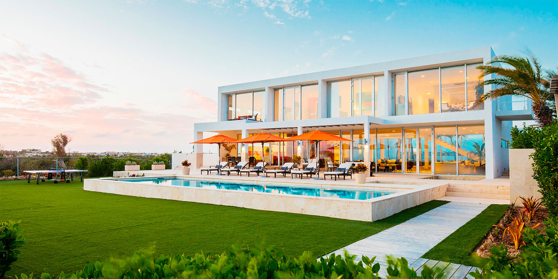 Marriott International's home-rental listings include an oceanfront villa in Anguilla.