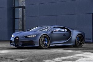 "The Bugatti Chiron Sport ""110 Ans Bugatti"" is a $3.75 million 110th anniversary edition on display at the New York International Auto Show this week."
