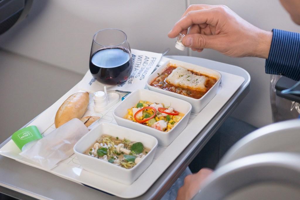 Inflight Meals Jet Blue
