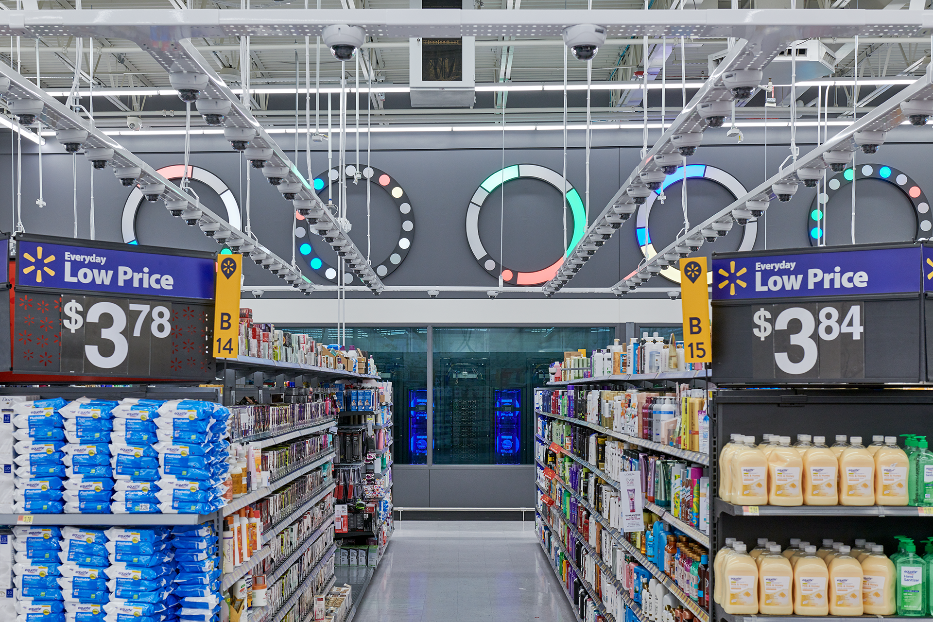 Walmart's Intelligent Retail Lab, powered by machine-learning and data crunching technology.