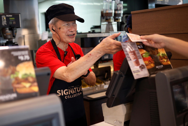 mcdonald's aarp hiring old people