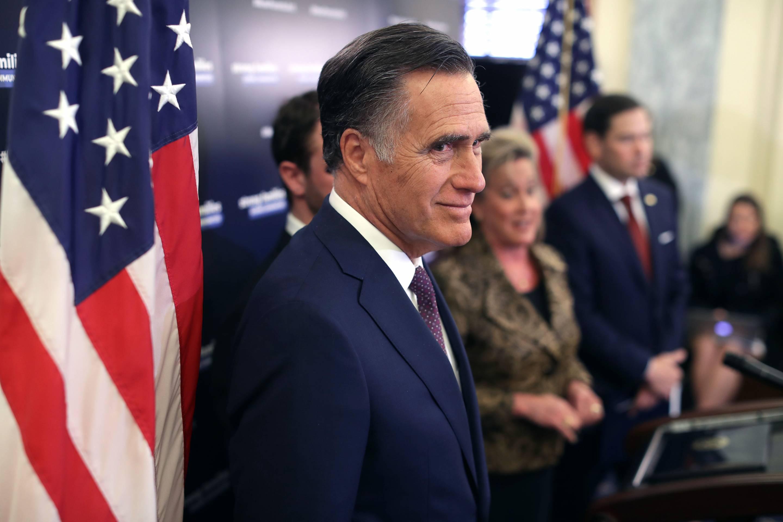Senators Marco Rubio And Mitt Romney Unveil Paid Family Leave Legislation