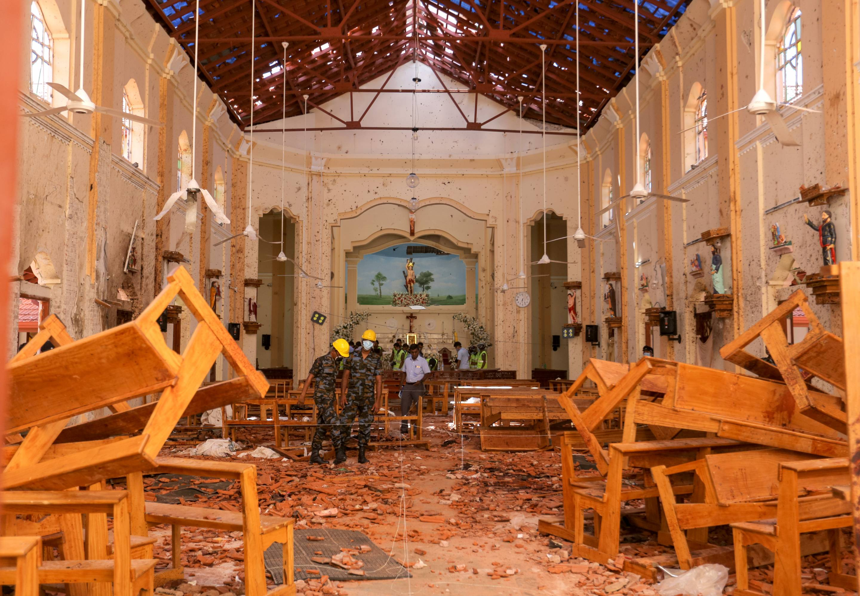 Multiple Explosions Hit Sri Lanka's Capital On Easter