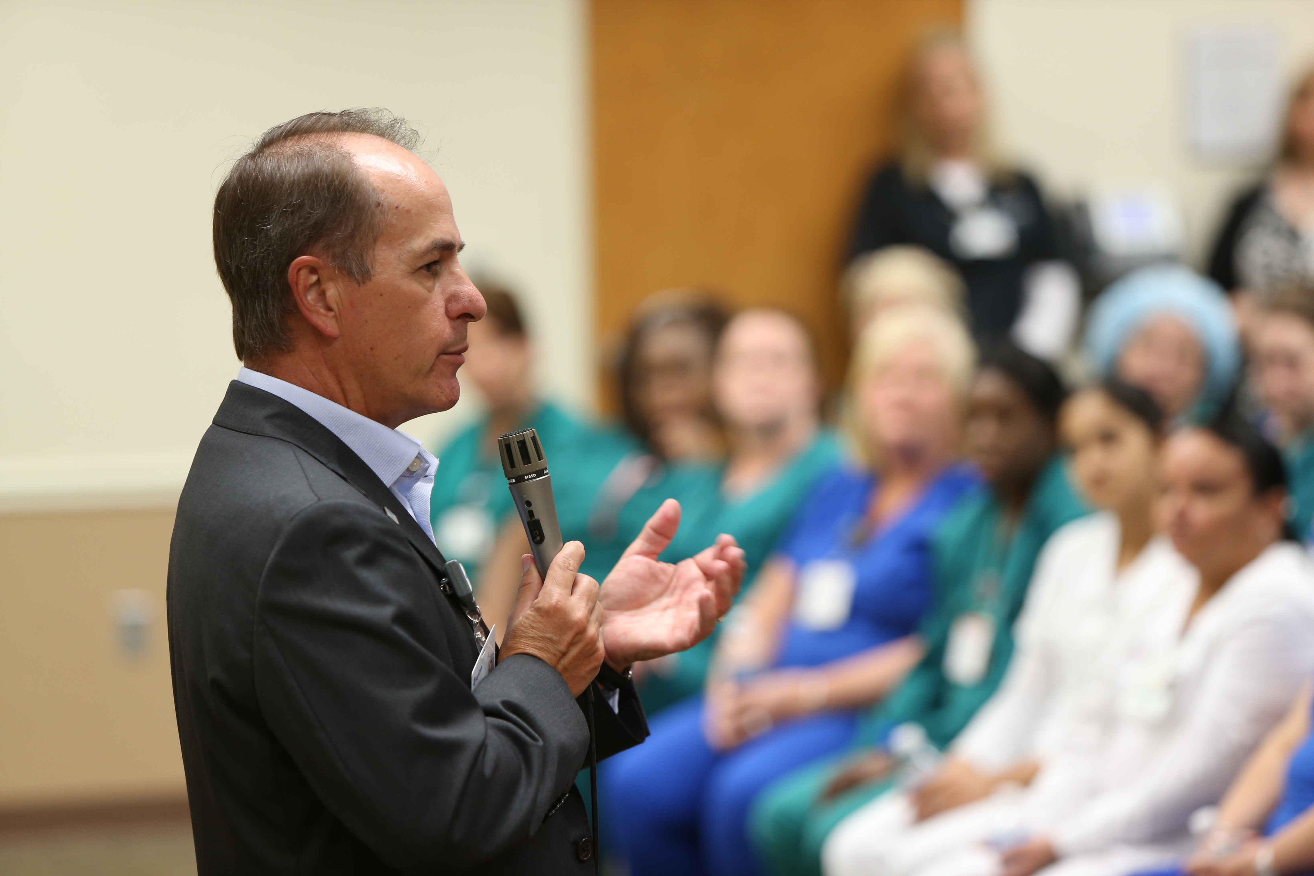 Tommy Inzina Attends BayCare Town Hall