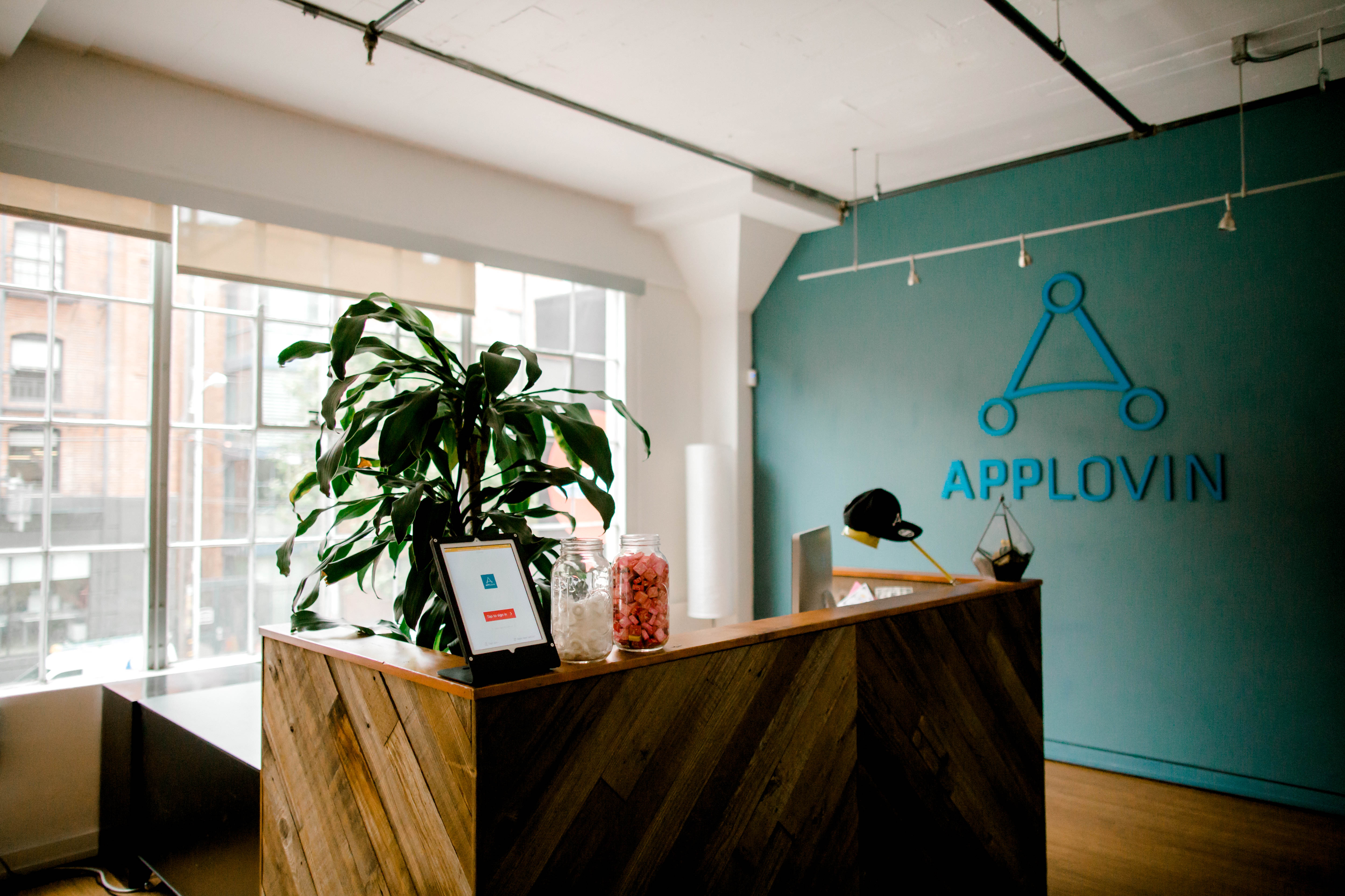 AppLovin's offices.