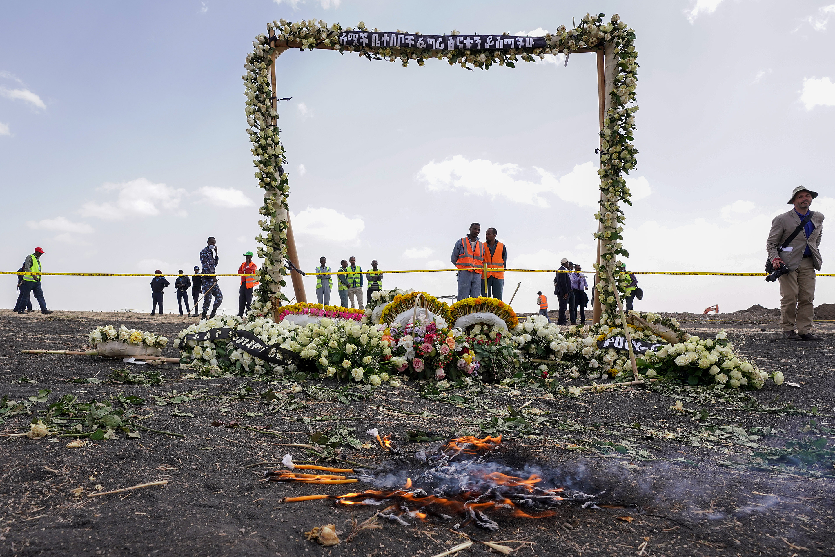 Boeing 737 Max ethiopia crash memorial
