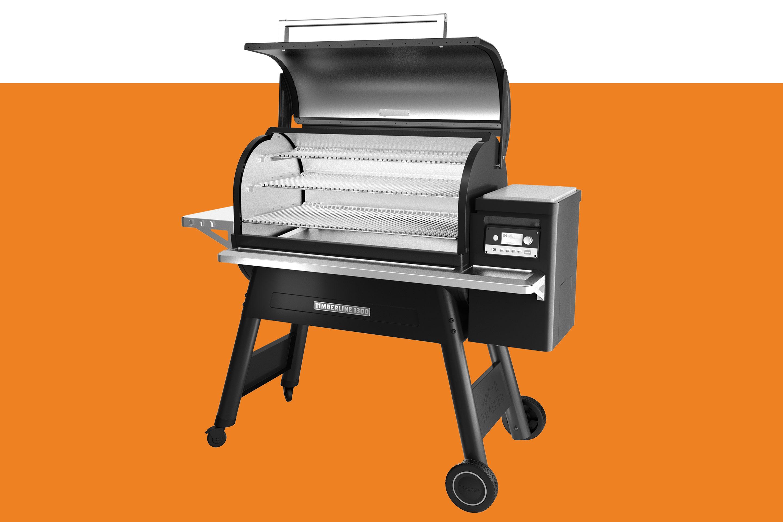 Traeger's Timberline 1300 wood pellet grill.