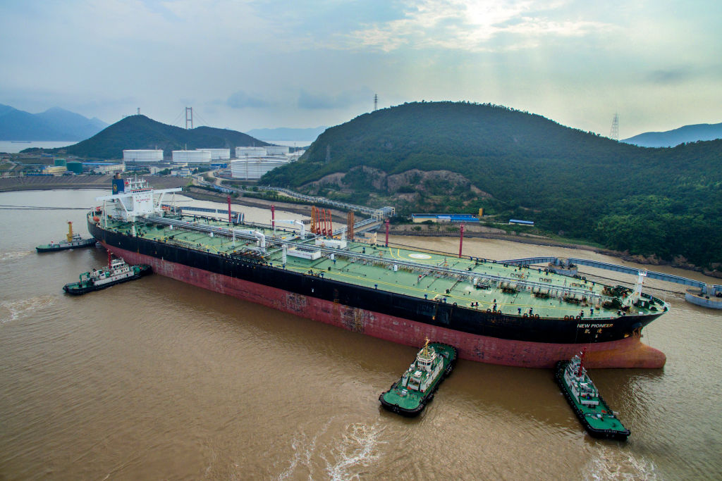 China's Crude Oil Imports Up 5% In May