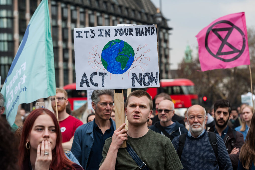 Climate Emergency Demonstration in London