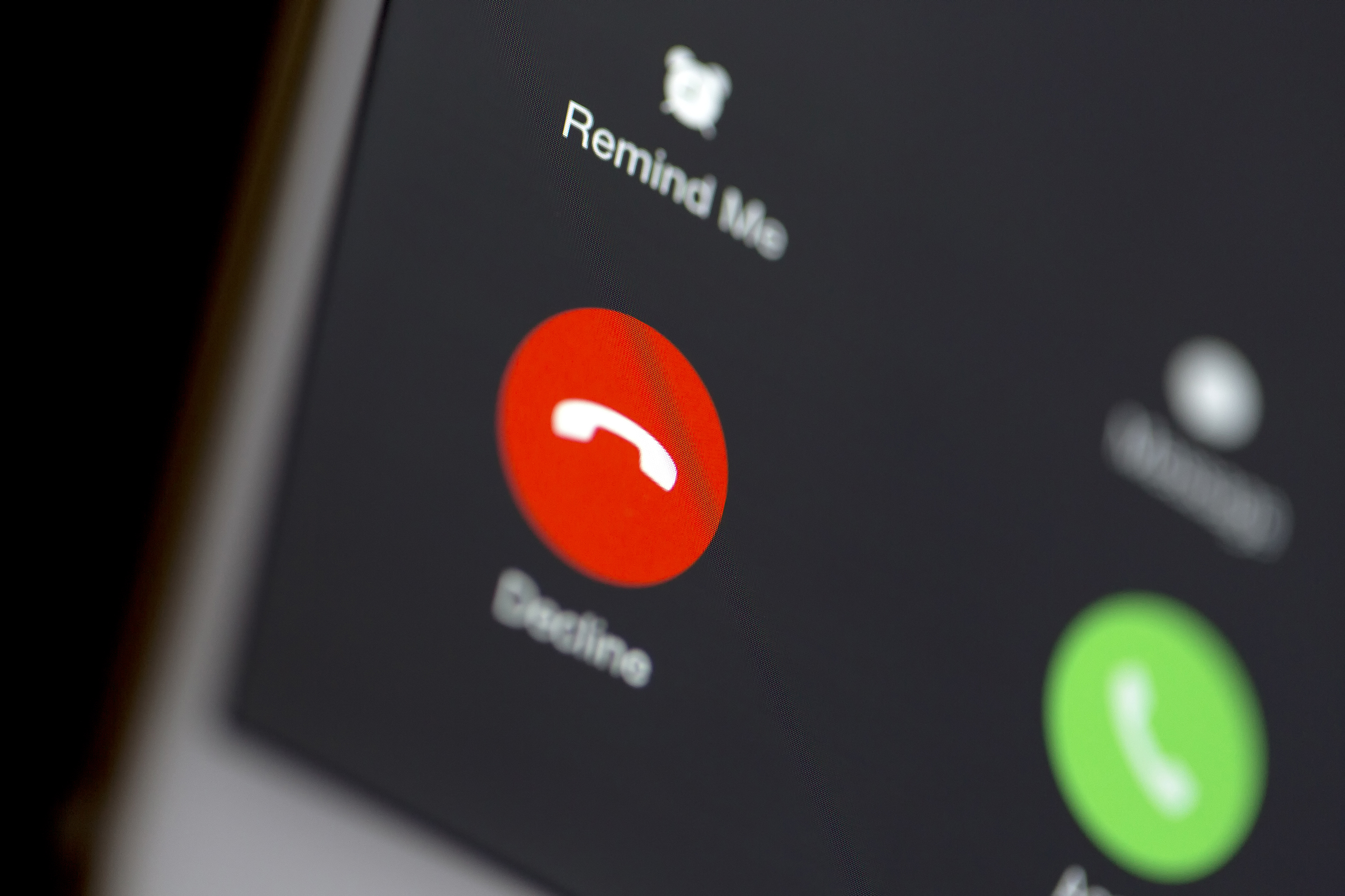 iphone decline phone call scam