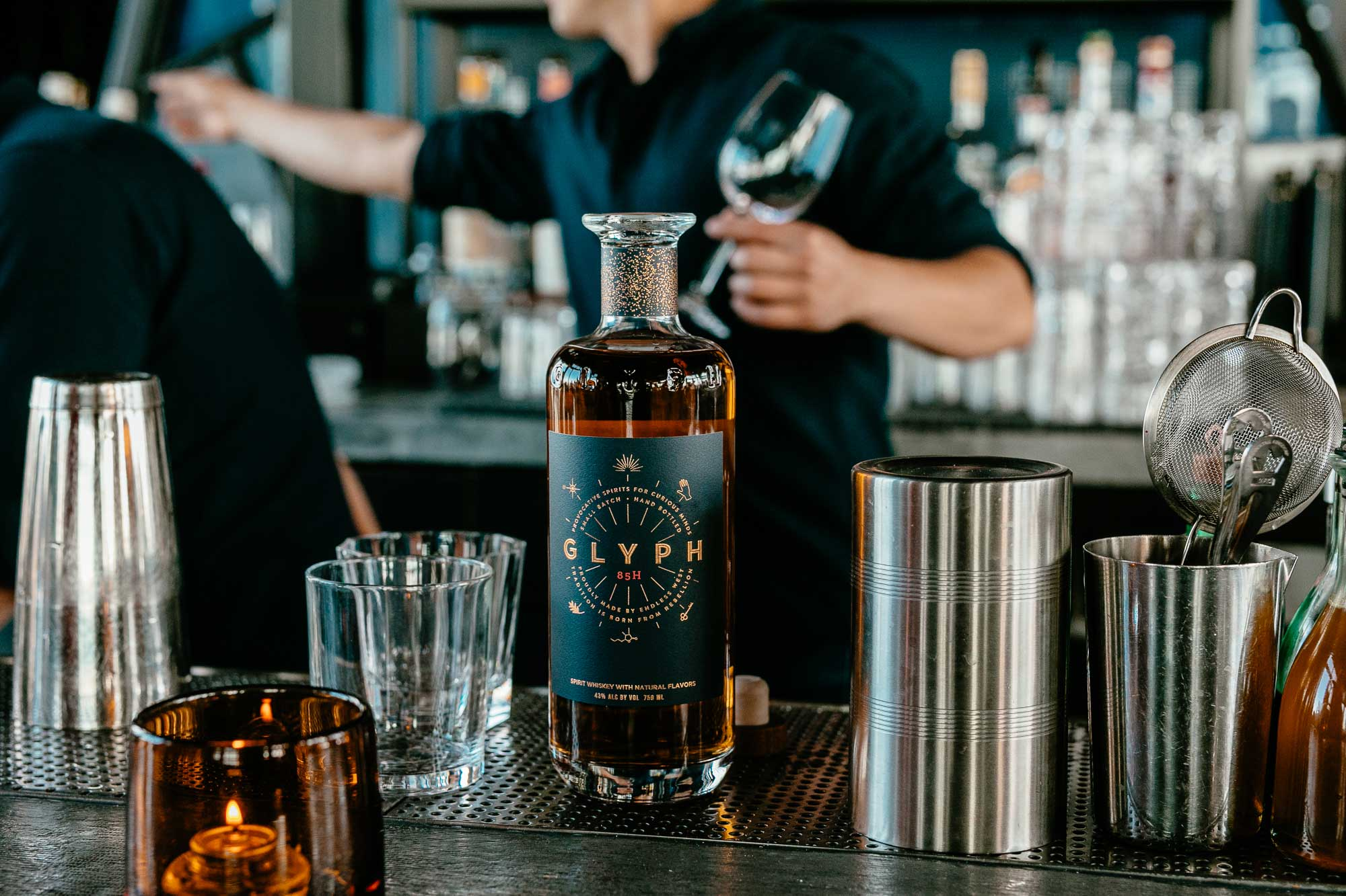 384ae8655b8 San Francisco-Made Glyph Reimagines Booze With Engineered Whiskey ...