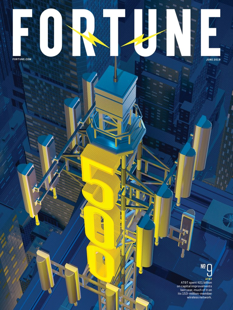 FOR0619-Fortune 500 2019-AT&T Cover