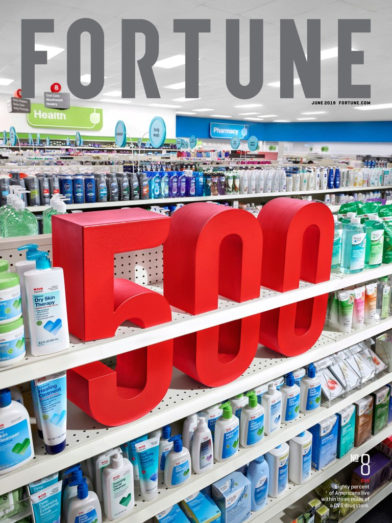 FOR0619-Fortune 500 2019-CVS Cover
