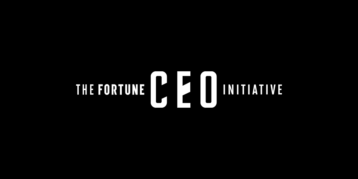 Fortune CEO Initiative Livestream 2019