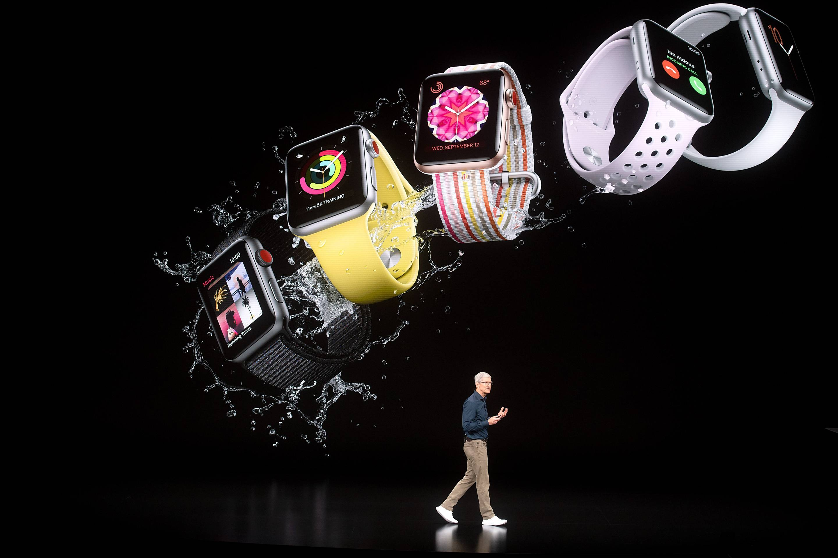 Tim Cook and the Apple Watch