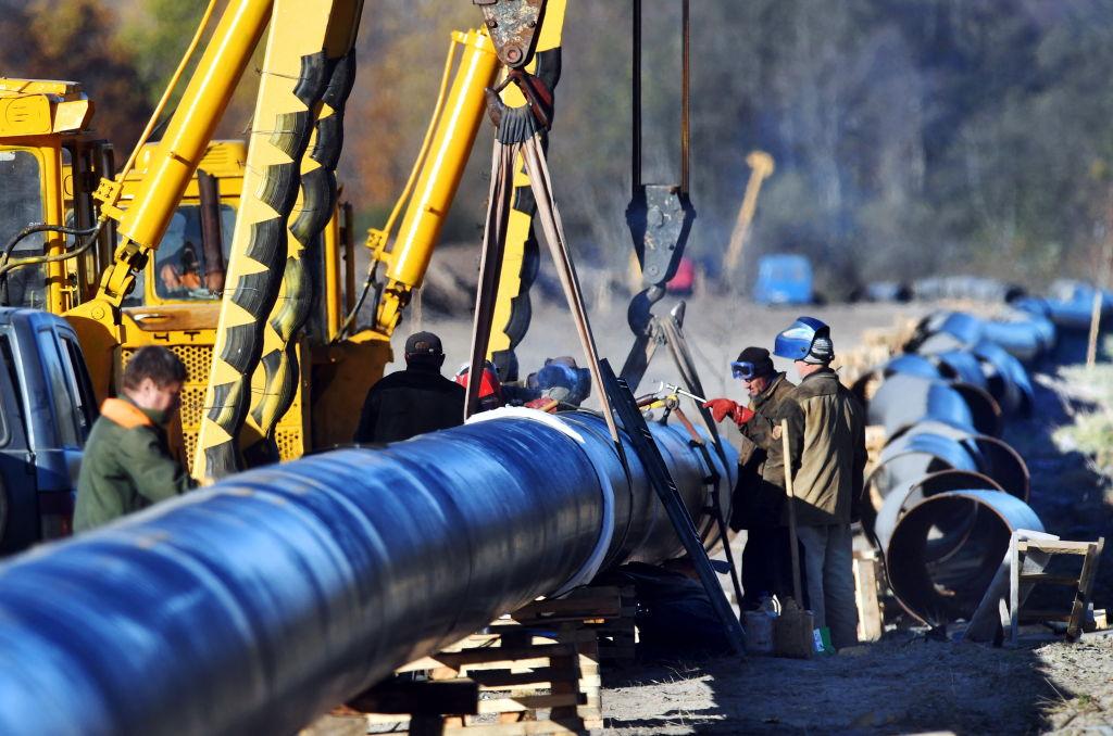 Druzhba oil pipeline under reconstruction in Belarus