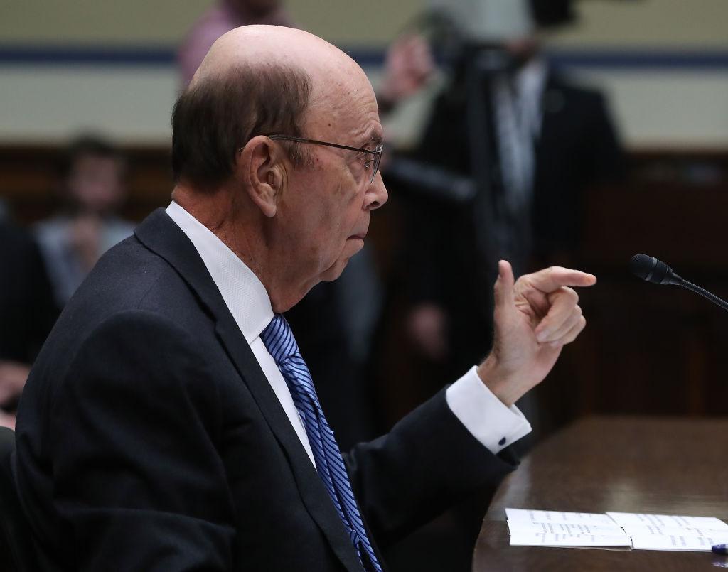 Commerce Secretary Wilbur Ross Testifies Before House Oversight Committee On Census