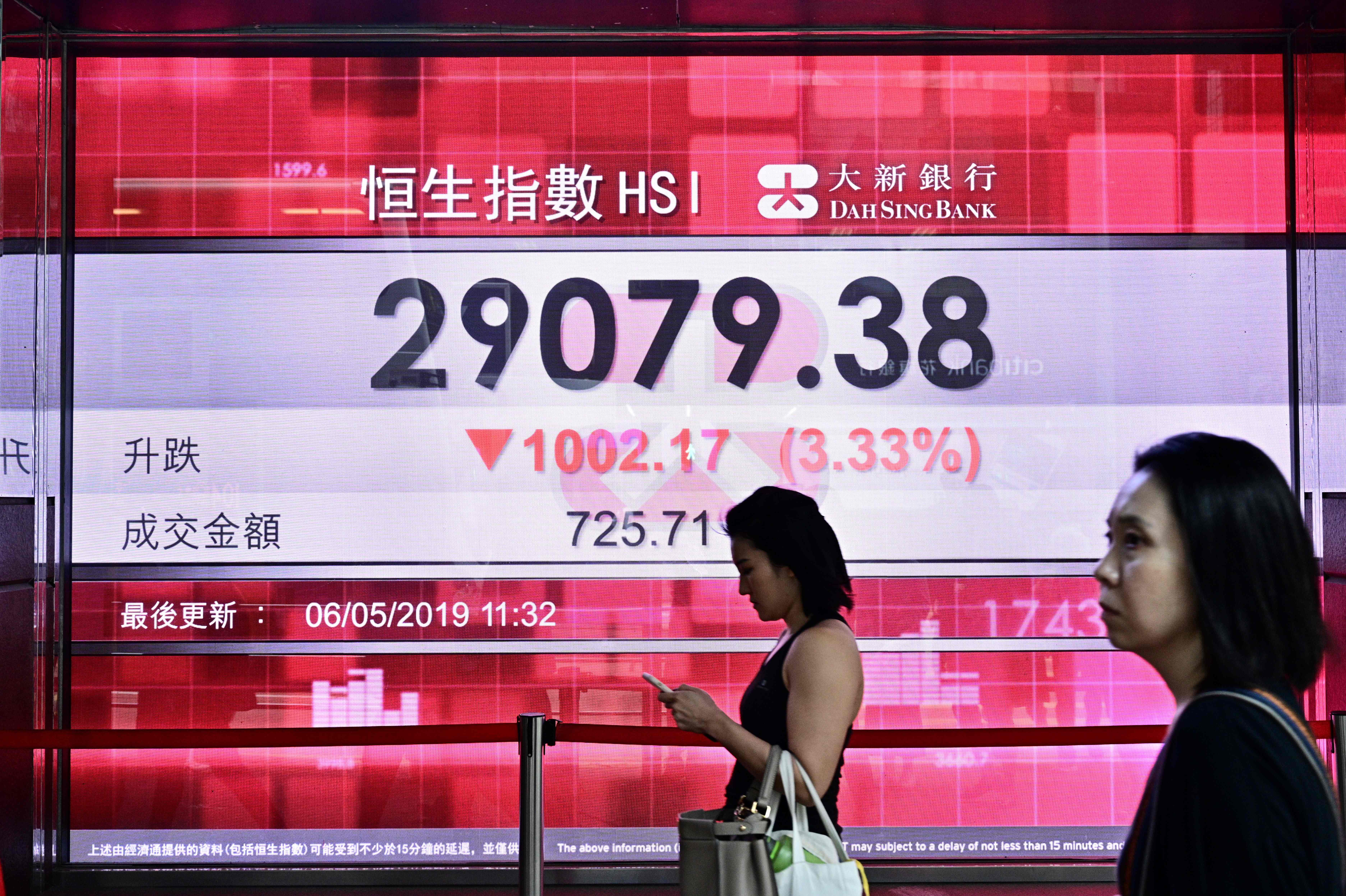 HONG KONG-CHINA-STOCKS