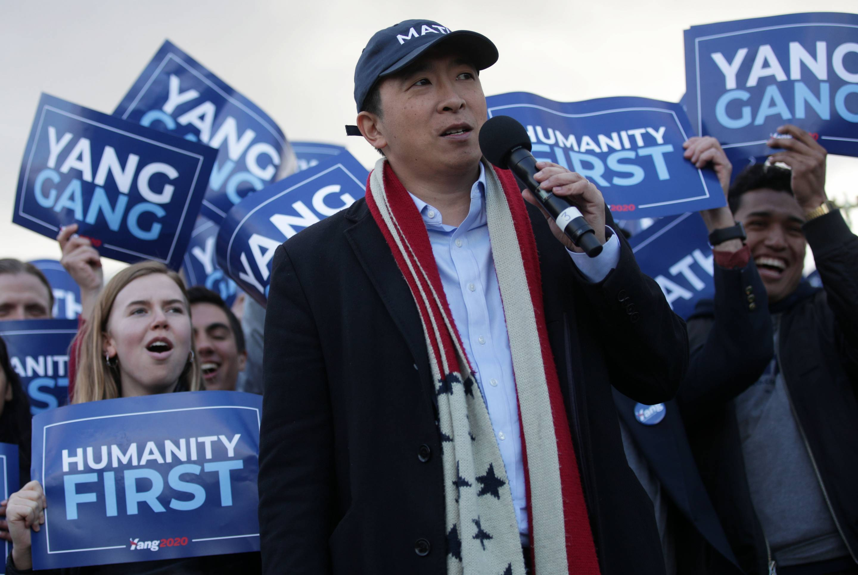 Presidential Candidate Andrew Yang