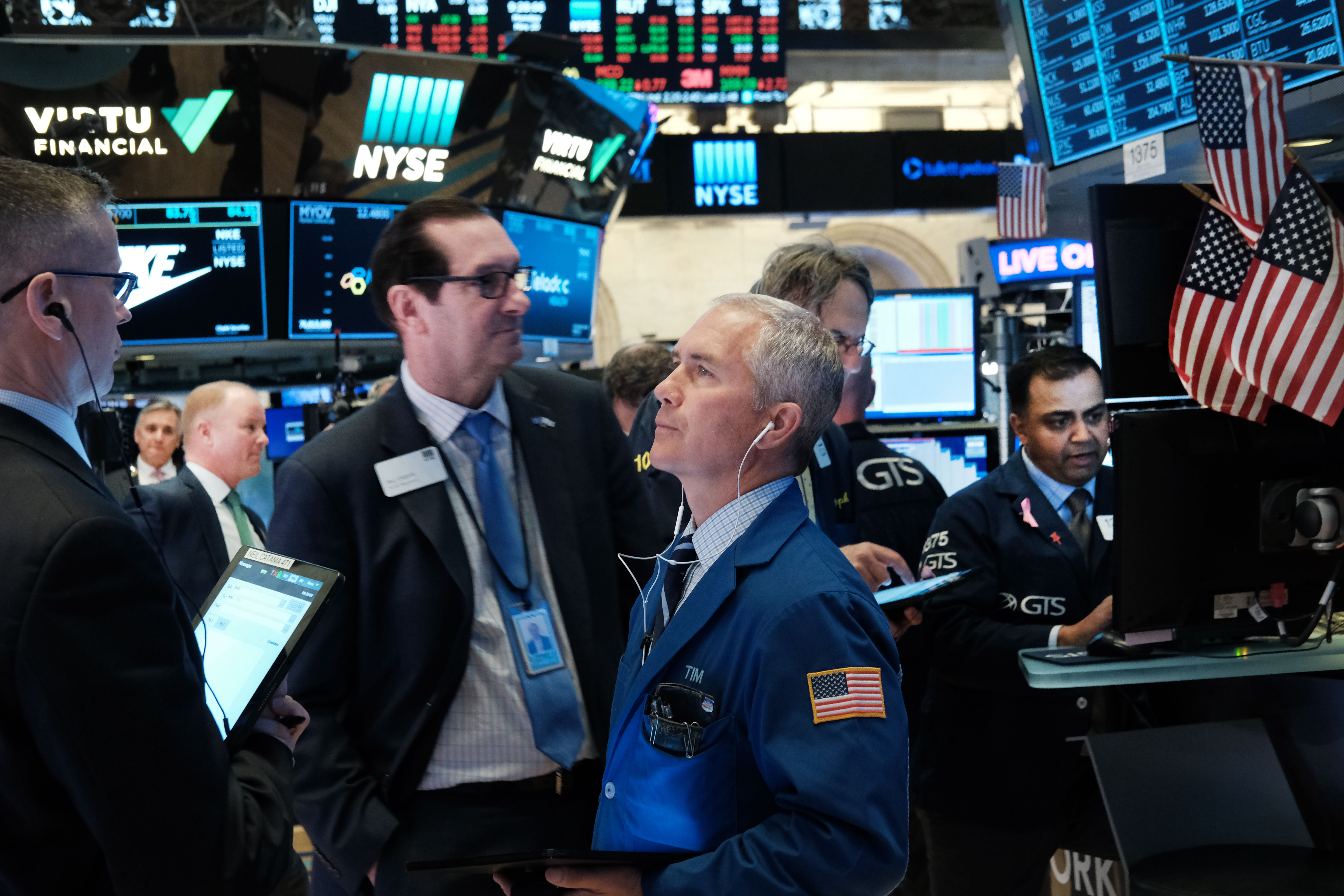 Markets Open Down As Fears Continue Over Trade War With China