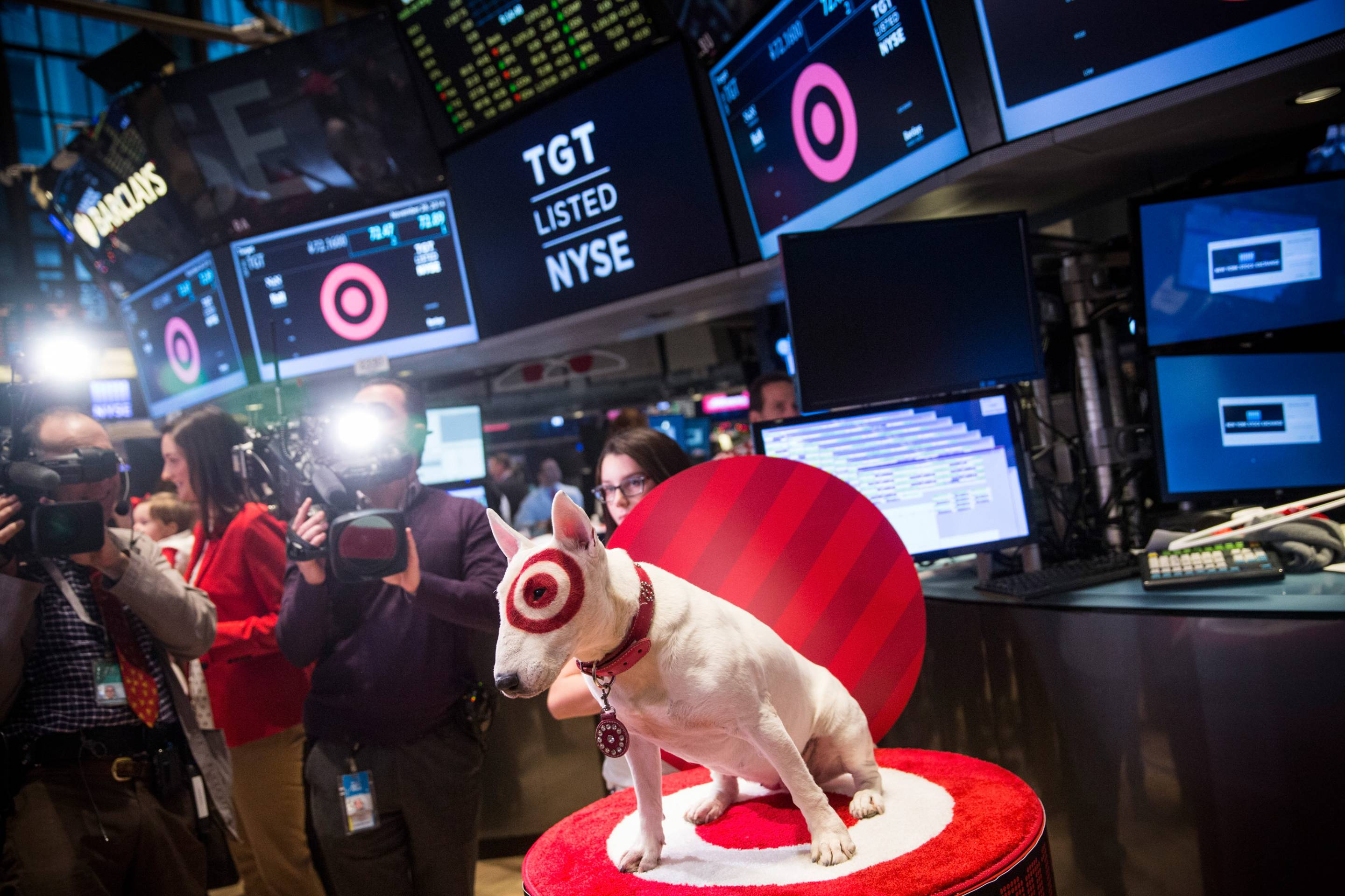 Target CEO Brian Cornell Rings NYSE Opening Bell On Black Friday