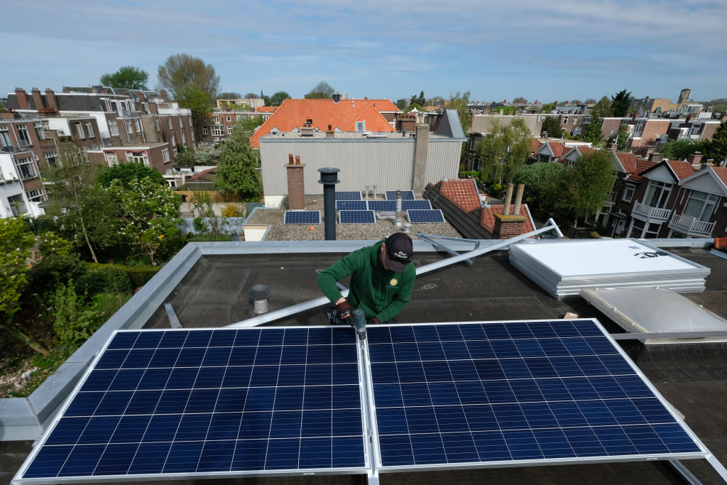 Solar Panels Installation In Hague