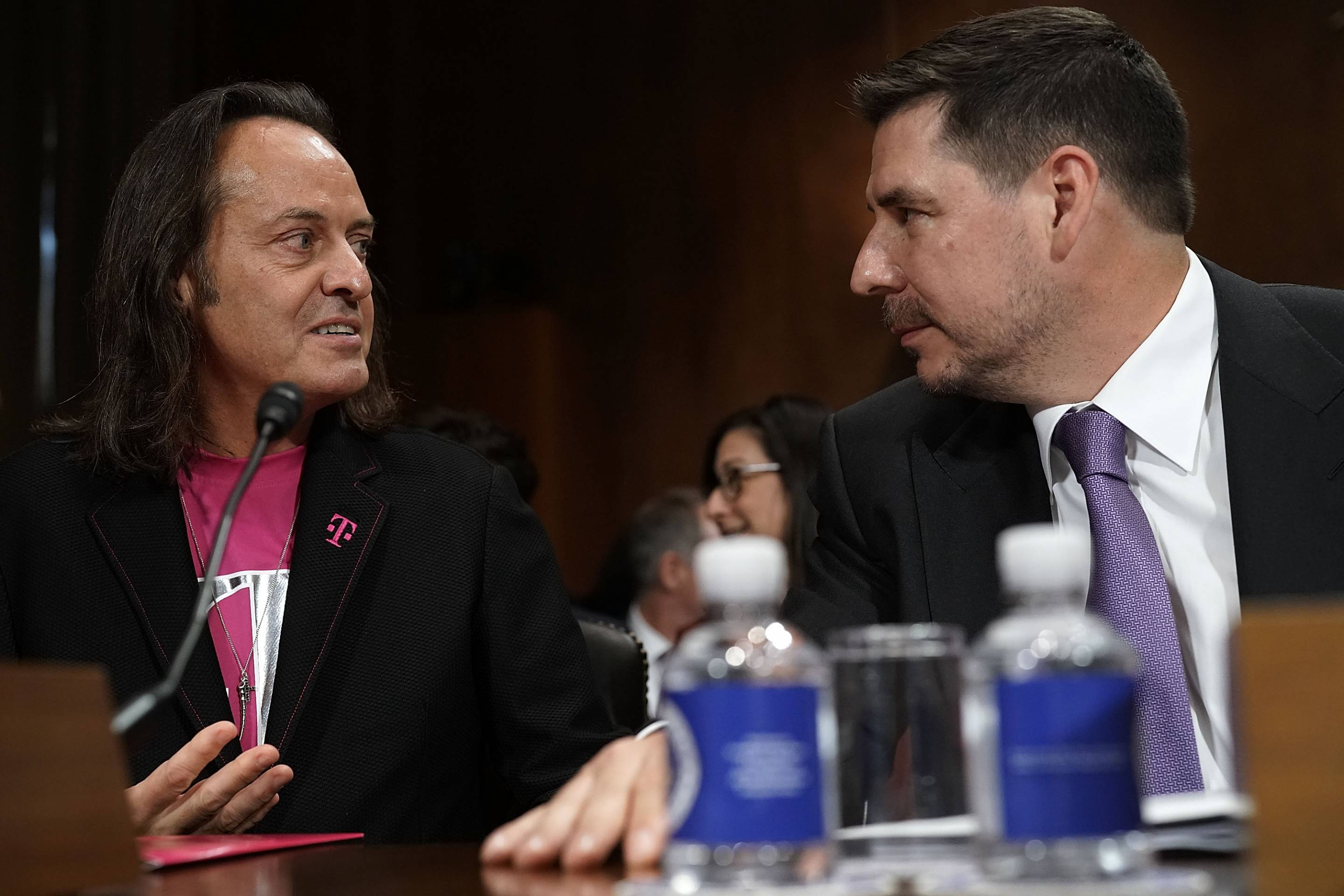Senate Judiciary Committee Hears From CEOs Of Sprint And T-Mobile On Their Merger