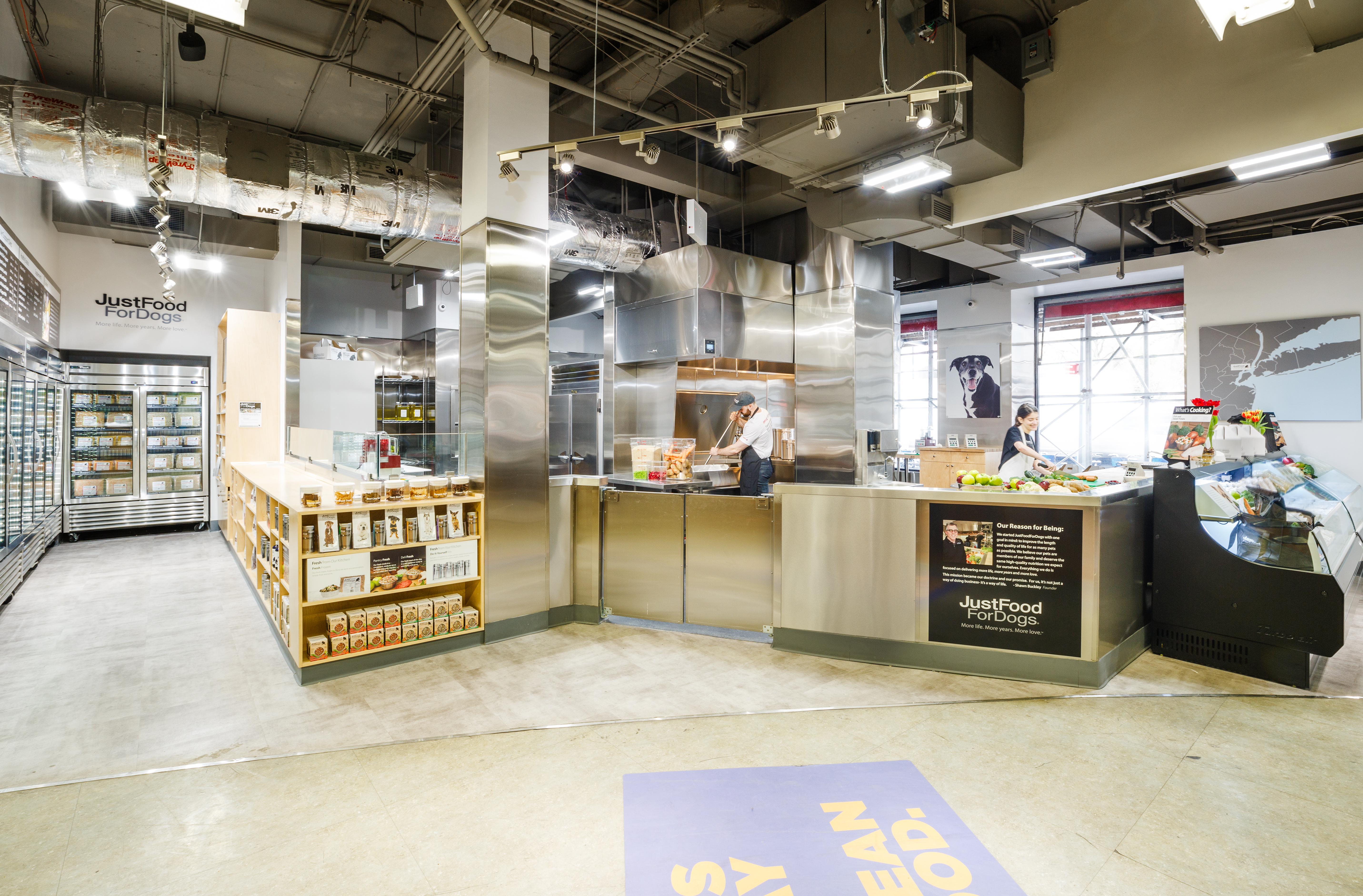 Petco Justfoodfordogs Open Pet Food Kitchen In New York Fortune