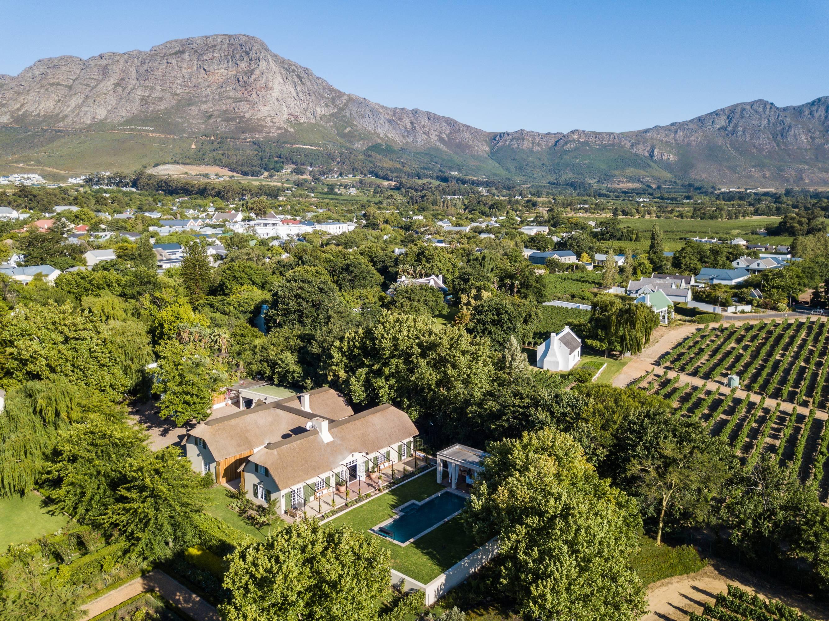 La Cles des Montagnes - Franschhoek - South Africa