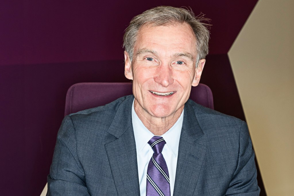 portrait of Leidos CEO Roger Krone