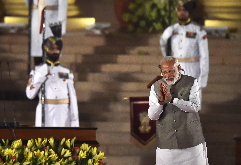 Swearing-In Ceremony Of Prime Minister Narendra Modi