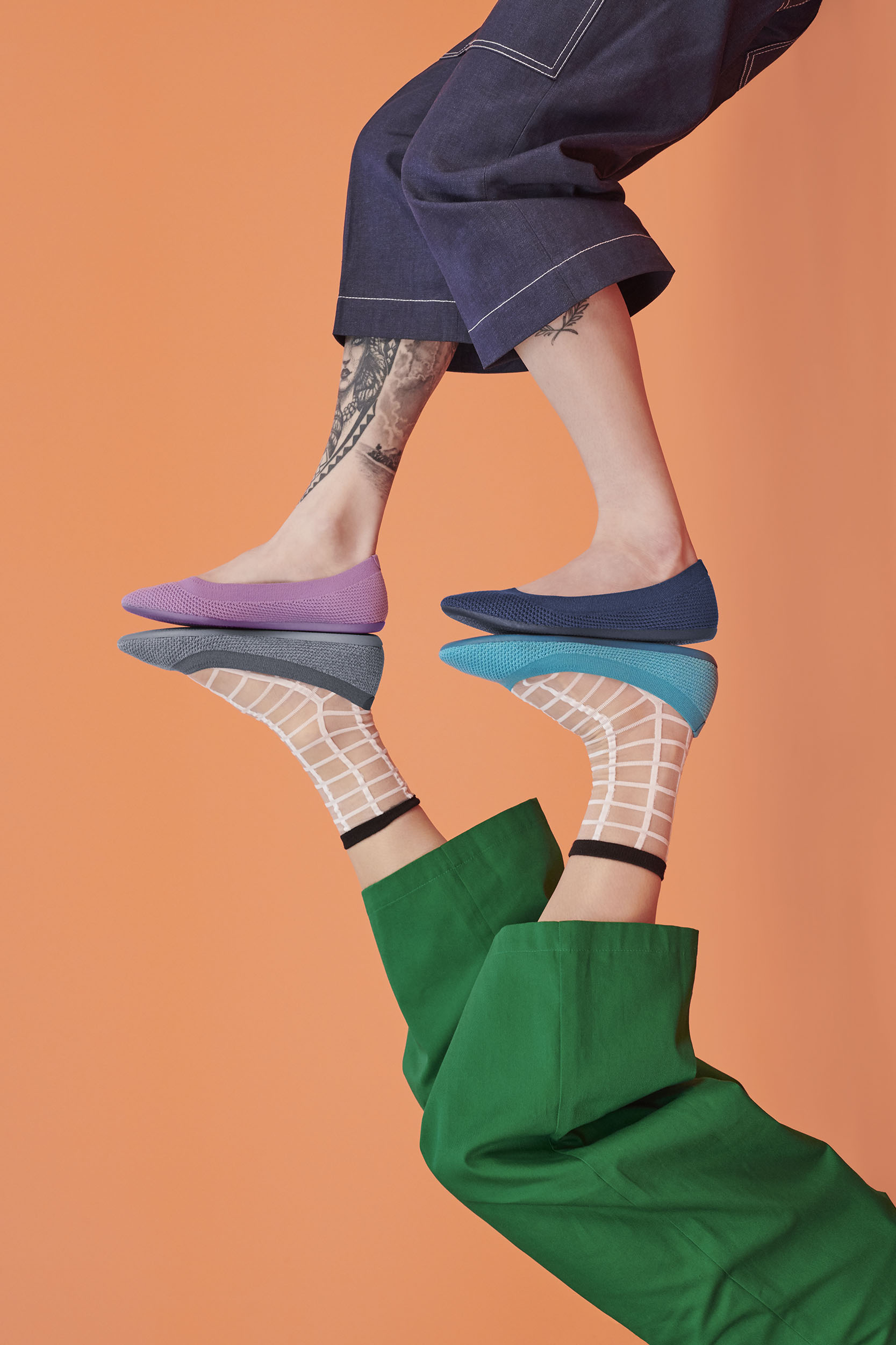 Allbirds new line of flats, called the Tree Breezer