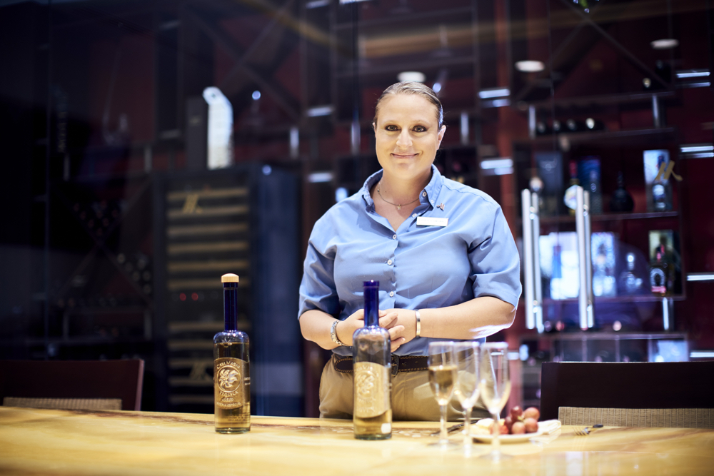 Tequila sommelier Audrey Formisano.