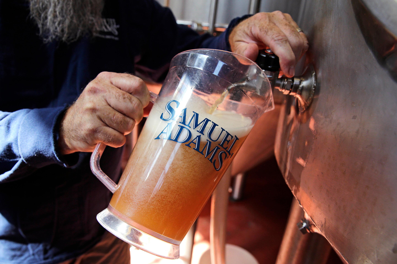 Samuel Adams beer-Dogfish brewery merge