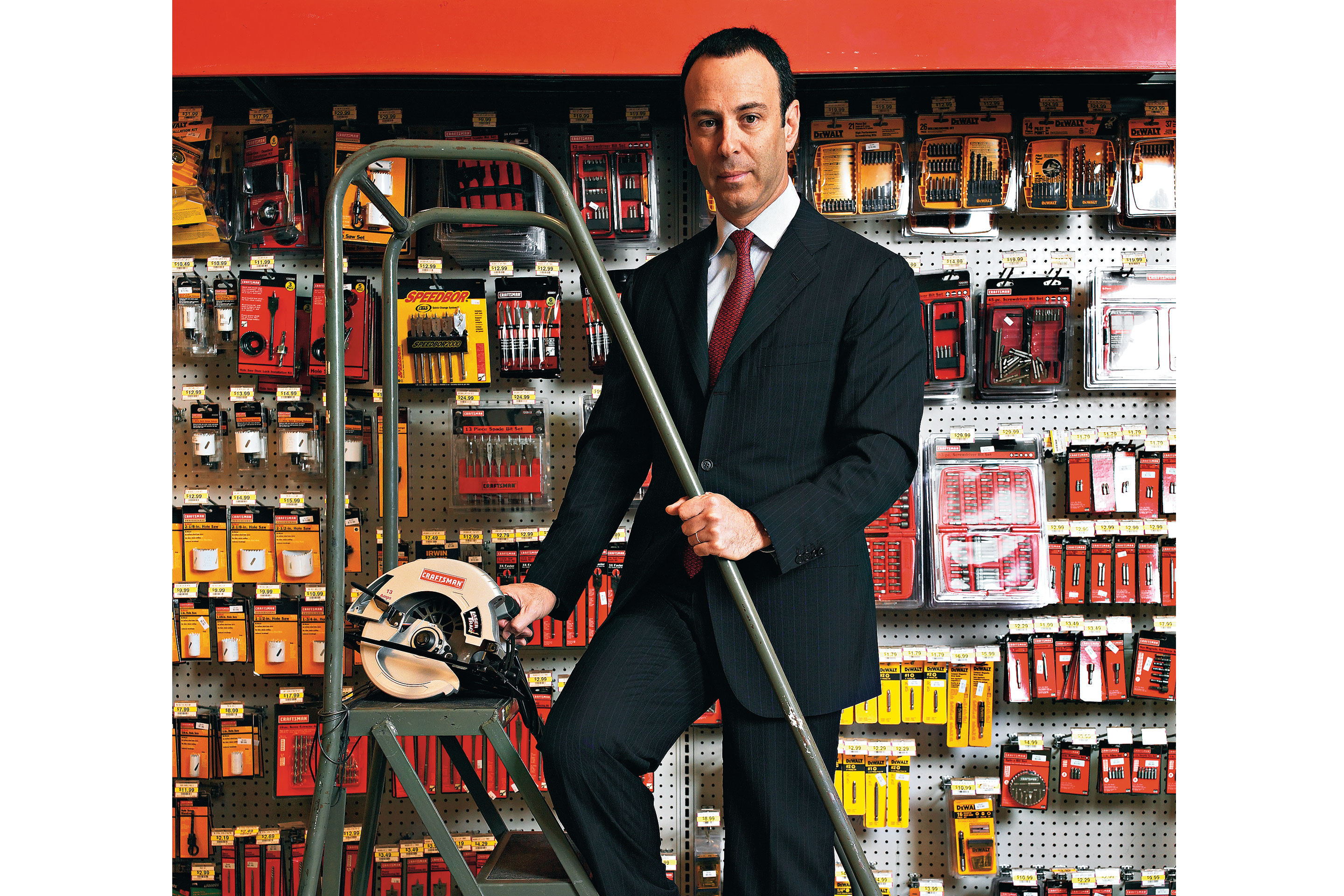 eddie lampert at a sears in yonkers photographed for a 2006 fortune story nigel dickson