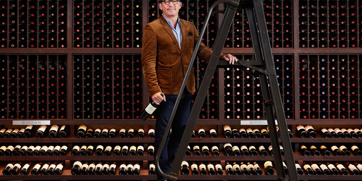 Meet the Man Who Stocks Hollywood's Top Wine Shop